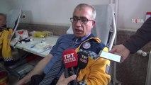 112 Acil personelinden kan bağışı
