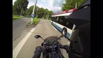 Roxy's erste Fahrt auf der Kawasaki ER-6f _ Channel Regeln - Z1000 MotoVlog #15