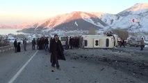 Ambulans ile hafif ticari araç çarpıştı 4 ölü