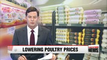 Korean gov't to supply eggs and chicken to stabilize prices