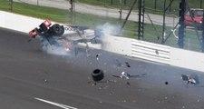 370 km hızla bariyere çarptığı kazadan sağ çıktı