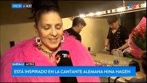 """Karina K es """"Nina Hagen"""" en """"Mamá Punk"""" Teatro Maipo Tn de Noche"""