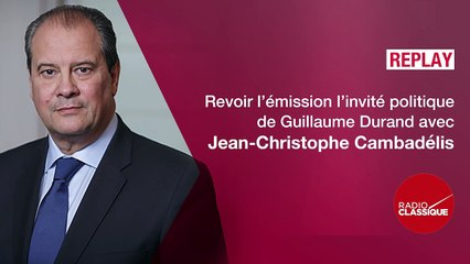 Jean-Christophe Cambadélis est l'invité politique de Guillaume Durand - 24 mai 2017