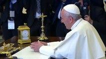Trump meets Pope Francis at Vatican
