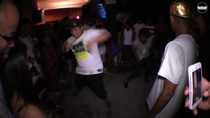 Crazy baile funk rave in the heart of the Rio favela