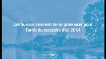 Les Suisses viennent de se prononcer pour l'arrêt du nucléaire d'ici 2034