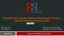 2017 Electric Car Chargers Market Evolution in the Research and Development Process Forecasts to 2022