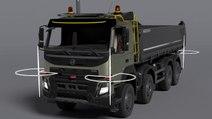 Volvo Technology développe un camion à déchets et ordures autonome