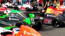 Pré grille Formule Renault Grand Prix Pau 2017