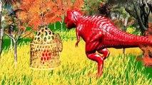 Dinozor vs ayı dövüş renkleri hayvanlar kavga video dinozorlar çocuklar için animasyonlu kısa film,Çizgi film izle 2017