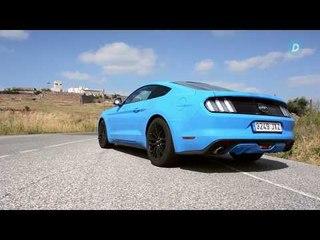 Así suena el Ford Mustang GT    Diariomotor