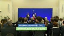 Elisabeth Borne, discours lors de la passation de pouvoirs