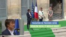Nicolas Hulot, discours lors de la passation de pouvoirs