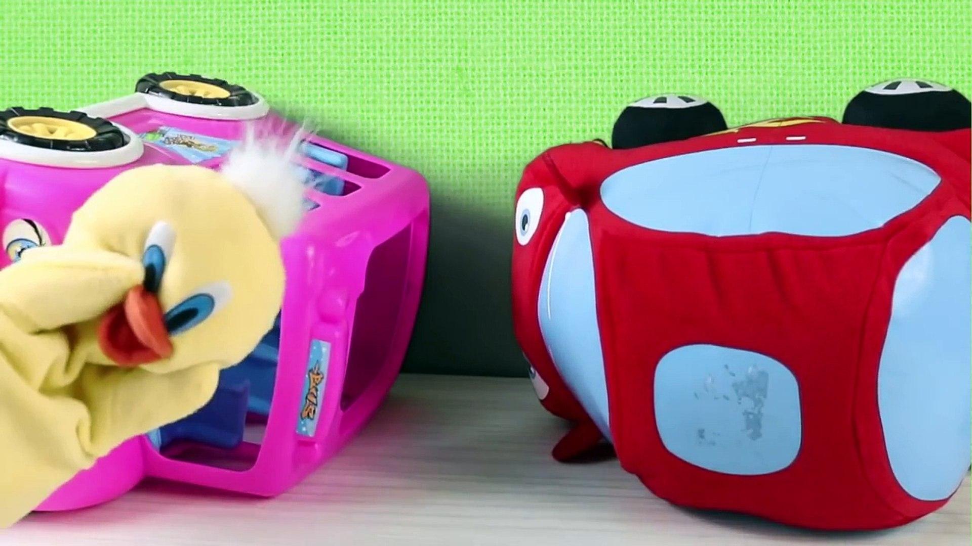 Otobüs ile Düt Düt Kaza Yapıyor Düt Düt İğne Oluyor Kukuli Tinky Minky Çizgi Film  #ABS,Çizgi film i