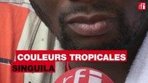 Singuila présente «Entre 2» au micro de Claudy Siar @CTropicalesRFI @FEMUAOfficiel