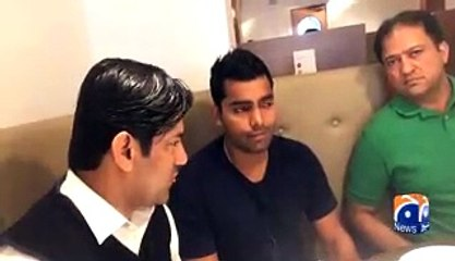 First Interview Of Umar Akmal After His Leaked Video With Stage Actress