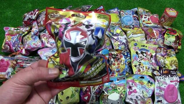 Gelé anime Bikkuratamago × 40 Anpanman spectre regarder Pokemon Disney Rider ball Pretty bus Gudetama jouets disney pokemon