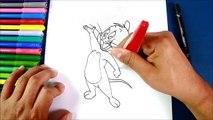 Par par dessiner facile Comment souris étape à Il jerry