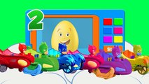 Learn Colors with Surprise Eggs PJ Masks !!! Color for Kids and Toddlers Education Cartoon Videos,Animated Cartoons movies 2017