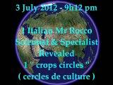 PHENOMENAL GIANT !!! UFO Crops Circles 2012 Cercle de culture OVNI 3 july