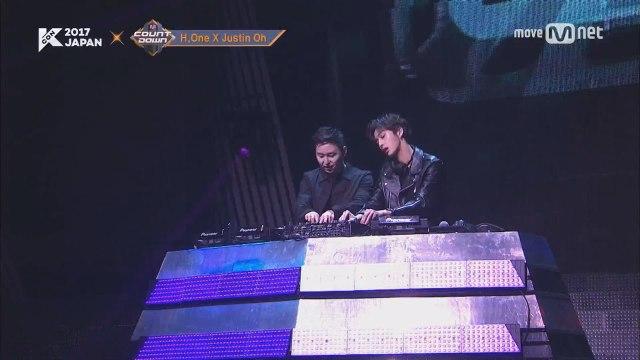 KCON 2017 JAPAN×M COUNTDOWN |DJ저스틴오 x 몬스타엑스 (MONSTA X)  _ BAM BAM BAM