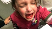 Annabelle Bloody Tooth Freaks Out Victoria & Freak Daddy Save The Day Toy Freaks