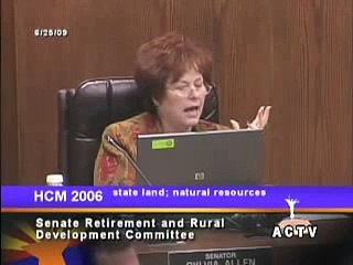 Arizona State Senator Sylvia Allen says Earth is 6,000 years old.