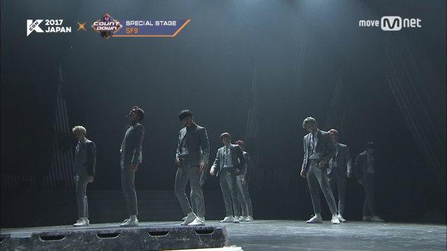 KCON 2017 JAPAN×M COUNTDOWN |SF9 _ 내꺼하자 (Be Mine)+으르렁 (Growl)+I Need U