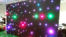 led star curtain pipe and drpae kits for events decoration