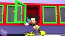 3D Johnny Johnny Yes Papa (MICKEY MOUSE Version) Nursery Rhyme for children.Movies series tv 2017