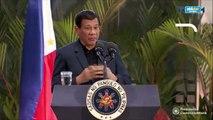 Duterte says terrorist are involved in drugs