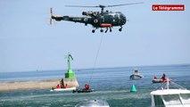 Pont-l'Abbé. Sécurité en mer : les secours sur le pont