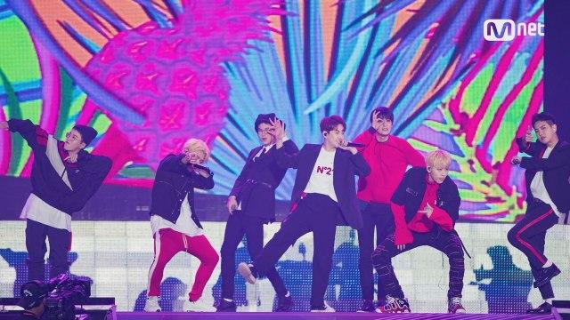 KCON 2017 JAPAN×M COUNTDOWN  블락비 (BLOCK B) _ INTRO+YESTERDAY