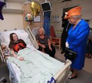 The Queen visits Royal Manchester Children's Hospital