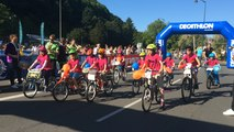 Soleil, musique et plus de 700 petits cyclistes au programme du Petit tour de France