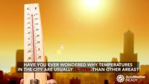 Why are cities hotter than rural areas?