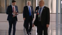 Trump arrives for NATO summit