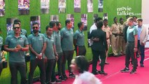 Indian Cricket Team At Sachin Movie GRAND Premiere -MS Dhoni, Yuvraj Singh, Shikhar Dhawan 2017