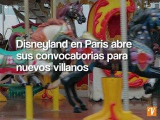 Disneyland en Paris abre sus convocatorias para nuevos villanos