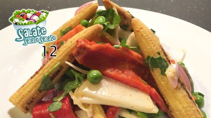 Gegrillter Paprika-Mais-Salat - Salate Salate Salate 12