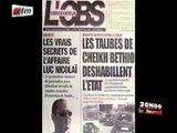 Manifestation des Thiantacounes -  Les populations accusent la police - JT Français 20H