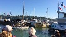 Morue en fête : Les vieux gréements rentrent dans le port