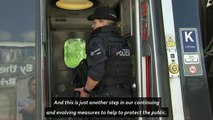 Armed police deployed across UK travel network
