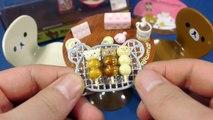 Cuire cuisine ré Relax réfrigérateur Lee moment gâteau Kitty faire jouet miniature cuisine jeu maison de jeu sikwan ment リ ラ ッ ク マ rilakkuma Đồ chơi