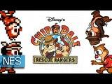 [Longplay] Disney's Chip 'n Dale Rescue Rangers (Tic & Tac) - Nes (1080p 60fps)