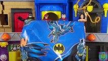 Flèche homme chauve-souris amis vert enregistrer jouet femme merveille Imaginext invisible jet dc super superman
