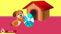 Et animaux les meilleures enfants créer chien enfants Apprendre apprentissage jouer chiot tout petit jouets vidéo f