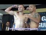 Sammy Vasquez vs Aaron Martinez WEIGH IN & FACE OFF - EsNews Boxing