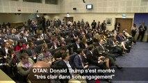 """Donald Trump s'est montré """"très clair"""" avec l'OTAN (Stoltenberg)"""