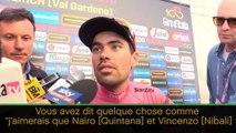 Giro - Dumoulin dénonce un pacte entre Nibali et Quintana